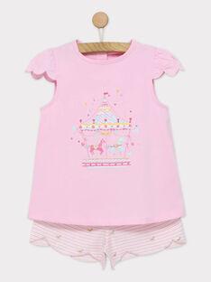 Rosa Pyjama REJITETTE / 19E5PFJ3PYJ305