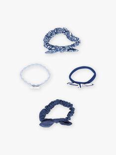 Set mit passenden Gummibändern für Mädchen BUNOUETTE / 21H4PFT2ELA715