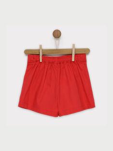 Rote Shorts RENAETTE / 19E2PFE1SHO050