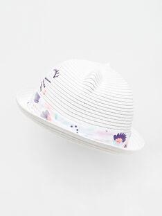 Hut für kleine Mädchen TAYNOETTE / 20E4PFP1CHA001