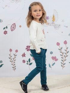 Baby Mädchen Ente Blau Peg Hosen BEMILETTE3 / 21H2PF91PAN714