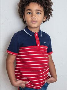 Kind Junge Junge Polohemd ZAZPLAGE3 / 21E3PGK2POL070