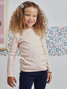 Baby Girl's Light Pink Star Print Unterhosen BRISOPETTE2 / 21H2PFO1SPLD300