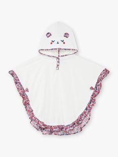 Baby Mädchen ungebleichtes Badecape ZISISSY / 21E4BFR1CDB001