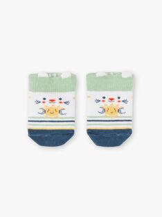 Baby Junge gestreifte Socken TARAMSES / 20E4BGQ1SOB001