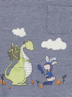 Blaues Polohemd RAANDREA / 19E1BG21POL221