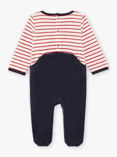 Baby Boy Langarm Waschbär Jumpsuit BEALBERT / 21H5BG61GRE942
