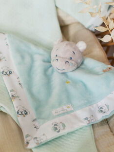 Quadratisches Nilpferd für Babyjungen zum Knuddeln ZOTIAGO / 21E0AGY1JOU203