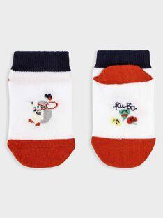 Kurze Baby-Socken Jungen TALINO / 20E4BGH1SOB000