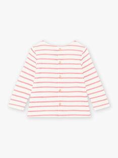 Baby Mädchen Langarm Seemann T-Shirt BAMIRA / 21H1BFM1TEE001
