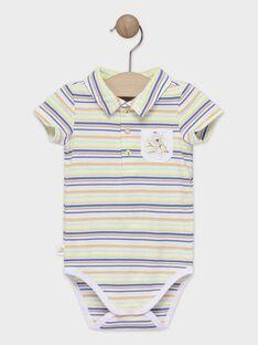 Baby-Body für Jungen mit Streifen TAWALTER / 20E1BGX1BOD406