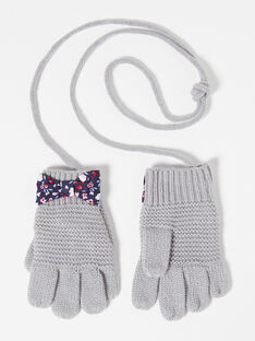 Grey GLOVES VUFUETTE / 20H4PFI1GANJ920