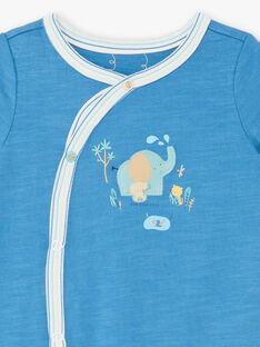 Blauer Strampler Baby Junge ZEDAHO / 21E5BG21GRE204