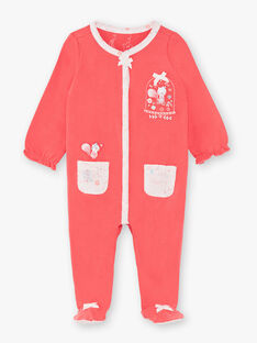 Strawberry rose ROMPER VELISAEX / 20H5BF21GRE308