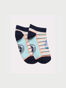 Kurze Socken weiß REPAYSAGE / 19E4PGD1SOB001