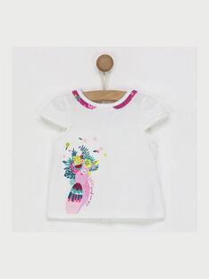 Weißes kurzärmeliges T-Shirt RAVALATINE / 19E1BFQ1TMC001
