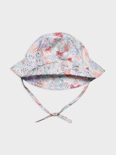 Weißer Hut mit Motiv RAKANOEUD / 19E4BFF1CHA001