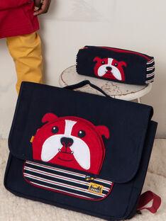 Marineblauer Schulranzen für Baby-Jungen mit Bulldoggen-Design BESACAGE / 21H4PG51BES070