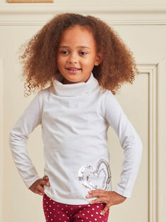 Baby Girl's Ecru Unterhosen mit C Design BROSOPETTE1 / 21H2PFF2SPL001