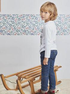 Baby Boy's Dark Denim Jeans BOMOLAGE / 21H3PGO1JEAP269