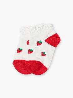 Erdbeer Socken ZAAFIDA / 21E4BFJ1SOB001
