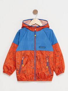 Orange WINDBREAKER TUNOUAGE 1 / 20E3PGY2CPVE400