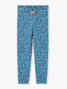 Baby Girl Floral Print Legging BOFIETTE / 21H4PF91CAL714