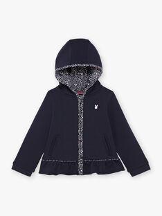 Baby Girl's Navy Hoodie BROFALETTE / 21H2PFF1JGH070