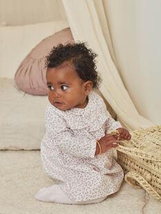 Blumig bedrucktes Kleid und Strumpfhose Set für ein neugeborenes Mädchen BOLOLA / 21H0CFK3ENS001