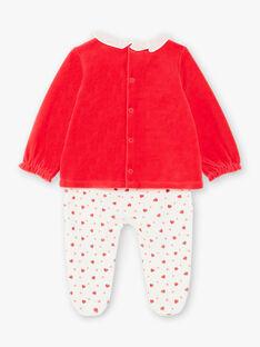 Erdbeer-Schlafanzug und Maus Kind Mädchen ZECLARA / 21E5BF11PYJ050