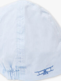 Himmelblaue Mütze Kind Junge TIBORSAGE / 20E4PGJ1CHA020