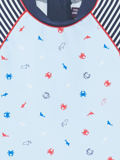 T-shirt Anti-UV himmelblau Kind Junge ZYUVAGE / 21E4PGR2TUVC218
