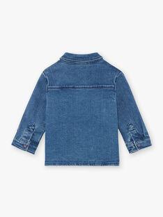 Baby Junge blau Denim Shirt BAJOSUE / 21H1BG91CHMP269