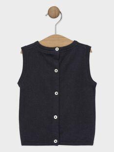 Dunkelgrauer #rmelloser Baby-Pullover für Jungen SAWICUS / 19H1BGP1PSM941