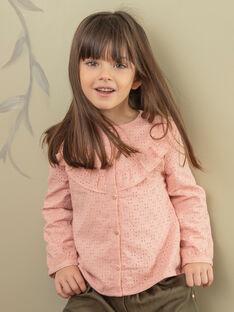 Rosa Bluse Kind Mädchen ZACHETTE / 21E2PF71CHED327