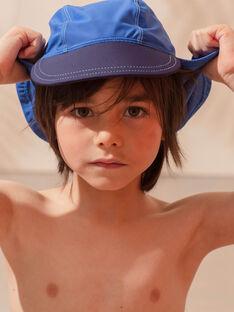 Kindermütze blau für Jungen ZYBOBAGE / 21E4PGR1CHAC221