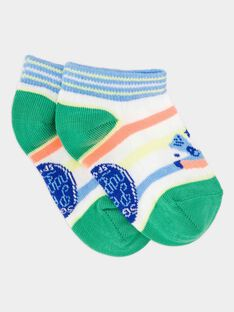 Kurze Socken ecru RUCHOSAGE / 19E4PGP1SOB001