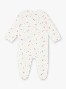 Frosch und Baby-Mädchen-Rassel ZECIEL / 21E5BF16GRE001