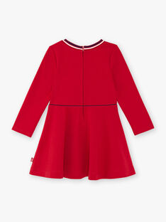 Rotes Kleid Kind Mädchen ZLOMETTE4 / 21E2PFK5ROB719