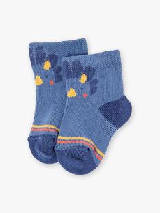 Dinosaurier blau Socken ZAERO / 21E4BGB1SOQC230