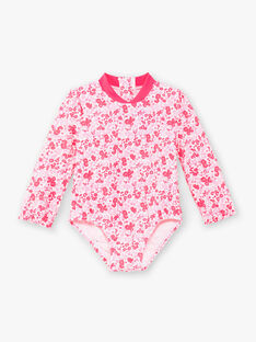 Anti-UV-Bodysuit ecru Baby Mädchen ZISAVANA / 21E4BFR1BUV001