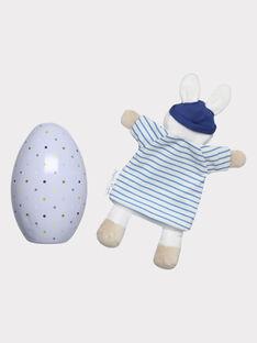 Osterei und Baby-Kuscheltier für Jungen THEO / 20E4BGU1JOU001