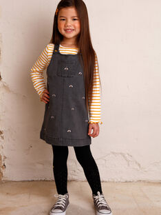 Kinderkleid Mädchen ZEBALETTE / 21E2PF91CHSJ912