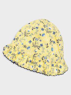 Baby-Hut mit Blumendruck Mädchen TAOLGA / 20E4BFO1CHA103