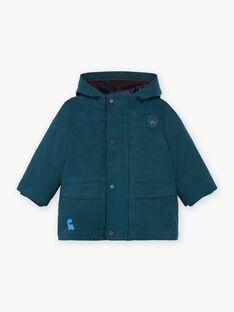 Smaragdgrüner Regenmantel für Baby-Jungen BIMATHEO / 21H1BGC1IMP608
