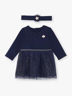 Navy DRESS VAROSALIE / 20H1BFY1ROB070