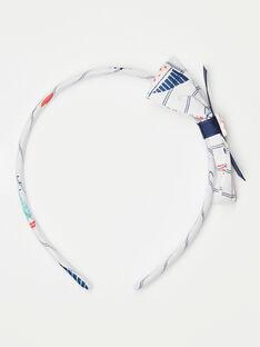 Bedrucktes Stirnband für kleine Mädchen TUIRAYETTE / 20E4PFL3TET001
