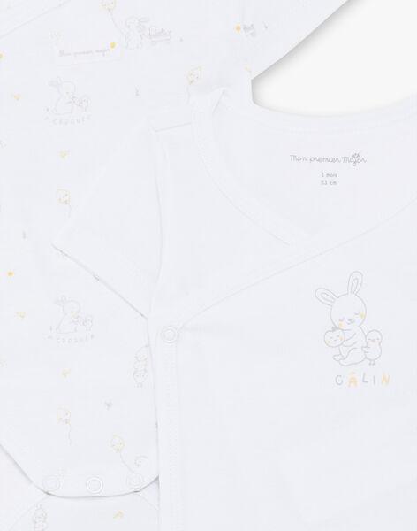 2er-Set kurzärmelige Baby-Mädchen-Bodys aus Bio-Baumwolle ZOMARLEY / 21E0NMY1LDB000