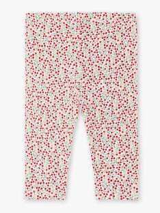 Baby Mädchen floral print legging BAAMOUR / 21H4BF11CAL001