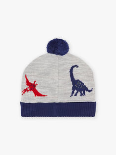 Zweifarbige Mütze mit Dinosaurier-Motiv für Jungen BABANAGE / 21H4PGD1BON943